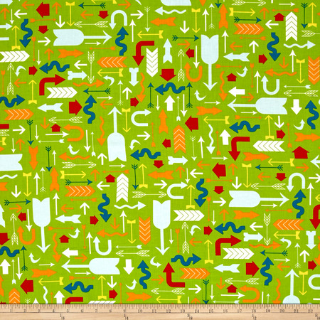 Moda Mixed Bag Which Way Grass Fabric By The Yard