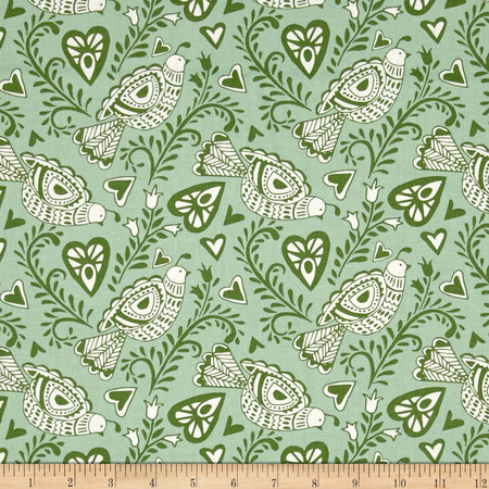 Moda North Woods Felicity Pine Fabric By The Yard