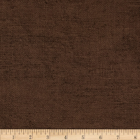 Moda Rustic Weave Chocolate Fabric