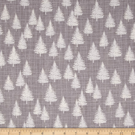 Moda Winterberry Winter Forest Stone Fabric