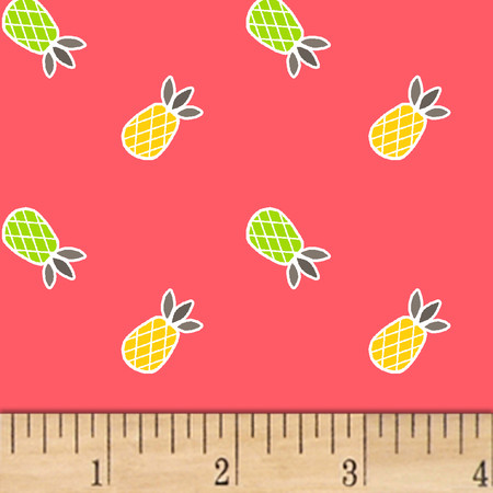 Mojito Pineapples Guava Fabric By The Yard