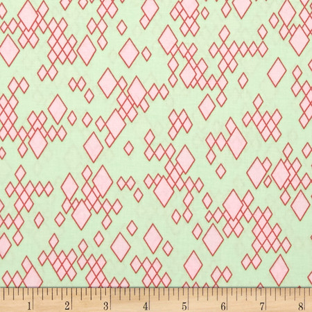 Mostly Manor Leo Green Fabric By The Yard