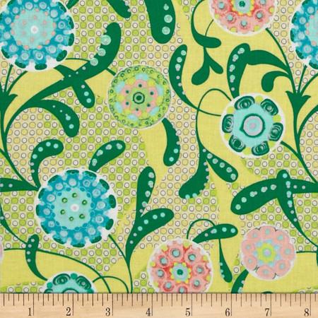 Mulberry Bushel Glow Fabric