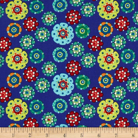 Mulberry Cocoon Azure Fabric