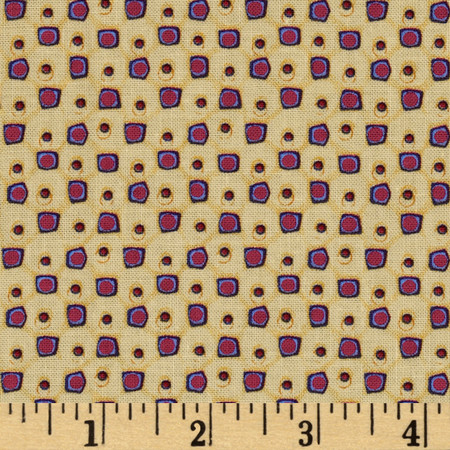 Mulberry Pips Berry Fabric