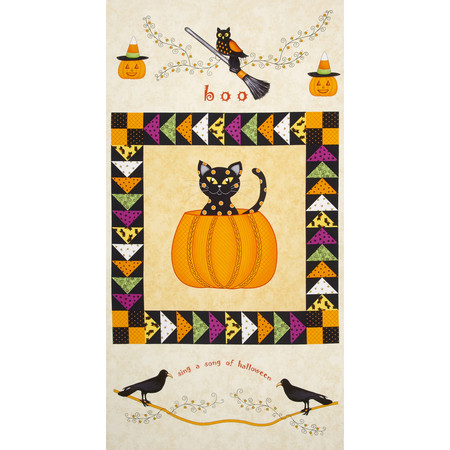 Not So Spooky Halloween 24 In. Panel Multi Fabric