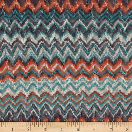 Novelty Sweater Knit Chevron Fabric By The Yard