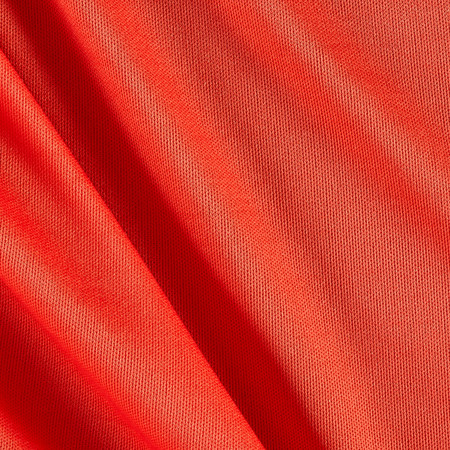 Nylon Activewear Knit Solid Scarlet Orange Fabric By The Yard
