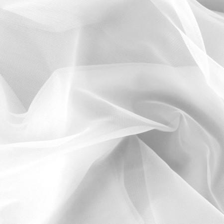 Nylon Chiffon Tricot White Fabric By The Yard