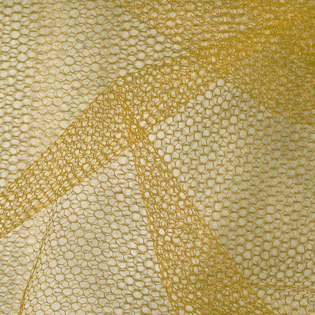 Nylon Netting Antique Gold Fabric By The Yard