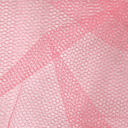 Nylon Netting Coral Fabric By The Yard