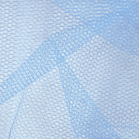 Nylon Netting French Blue Fabric By The Yard
