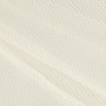 Nylon Netting Ivory Fabric By The Yard