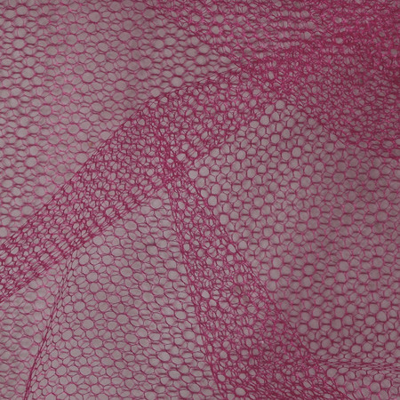 Nylon Netting Wine Fabric By The Yard