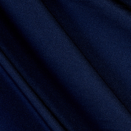 Nylon Spandex Activewear Knit Solid Navy  Fabric By The Yard