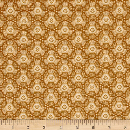 Old Sturbridge Village Honeycomb Tan Fabric By The Yard