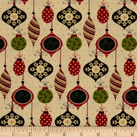 Ornamental Splendor Metallic Splendid Ornament Parchment/Multi Fabric