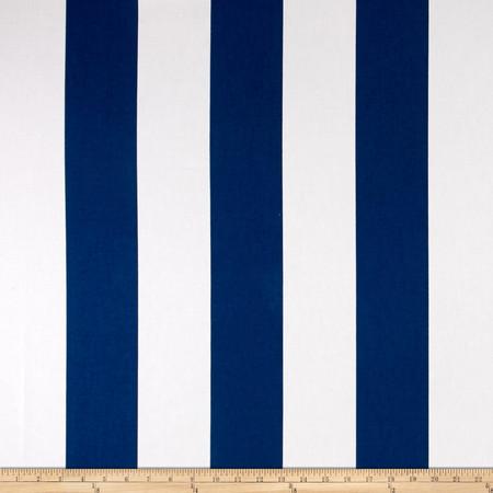 P.Kaufmann Aegean Canopy Stripe Cobalt Fabric