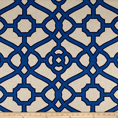 P.Kaufmann Loreto Cobalt Fabric By The Yard