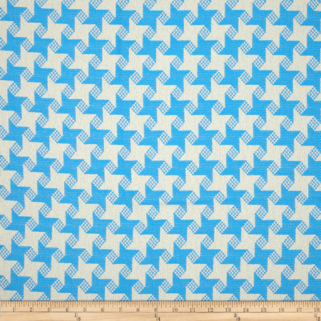 P Kaufmann Indoor/Outdoor Houndstooth Jacquard Marina Fabric By The Yard