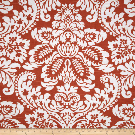 P Kaufmann Julian Slub Tangerine Fabric