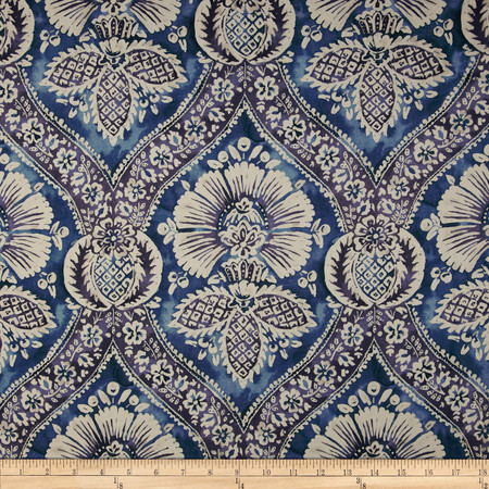 P Kaufmann Mazkura Twill Cobalt Fabric