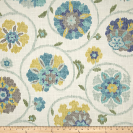 P Kaufmann Pamir Aquamarine Fabric By The Yard