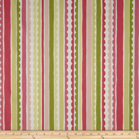 P Kaufmann Saray Stripe Watermelon Fabric