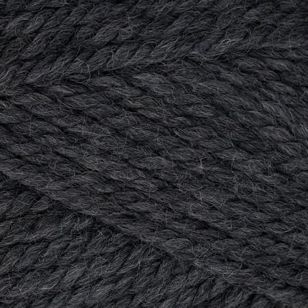 Patons Classic Wool Bulky Yarn (89042) Dark Grey Heather