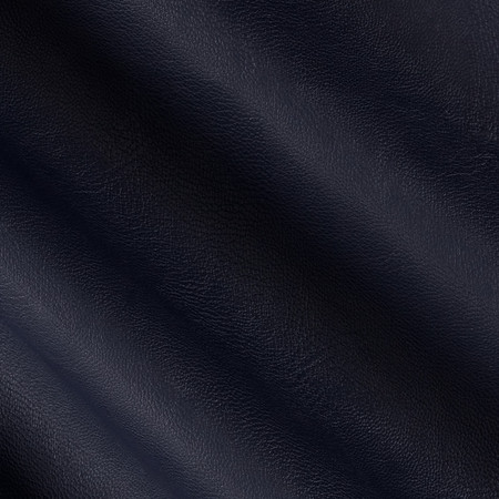 Telio Perfection Fused Faux Leather Navy Fabric By The Yard