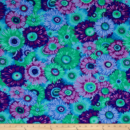 Philip Jacobs Zany Purple Fabric By The Yard