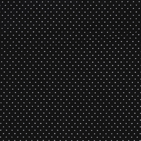 Pin Dot Black Fabric By The Yard