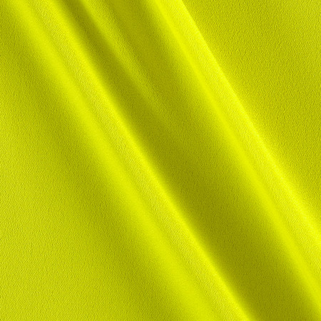 Poly Crepe Dobby Citron Fabric By The Yard