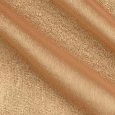 Poly Two Tone Chiffon Mocha/Gold Fabric By The Yard