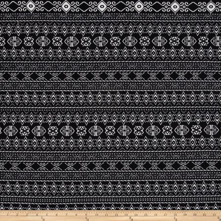 Ponte de Roma Aztec Black/White Fabric