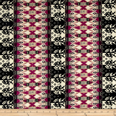Ponte de Roma Bohemian Mixed Print Multi Fabric By The Yard