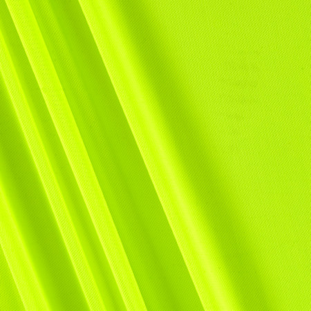 Power Mesh Solid Neon Lime Fabric By The Yard