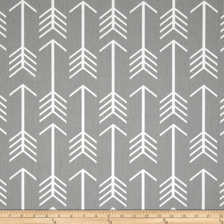 Premier Prints Arrow Twill Storm Fabric By The Yard