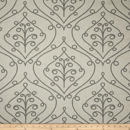 Premier Prints Barcelona Loni Summerland Grey Fabric
