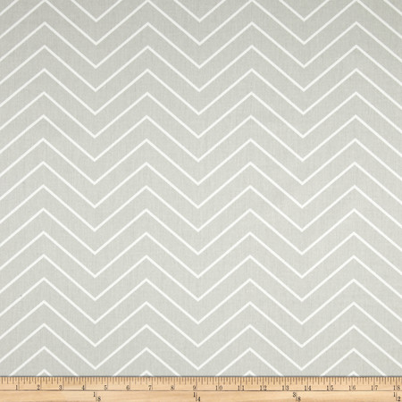 Premier Prints Chevron Twill French Grey Fabric By The Yard
