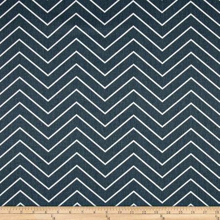 Premier Prints Chevron Twill Gunmetal Fabric By The Yard
