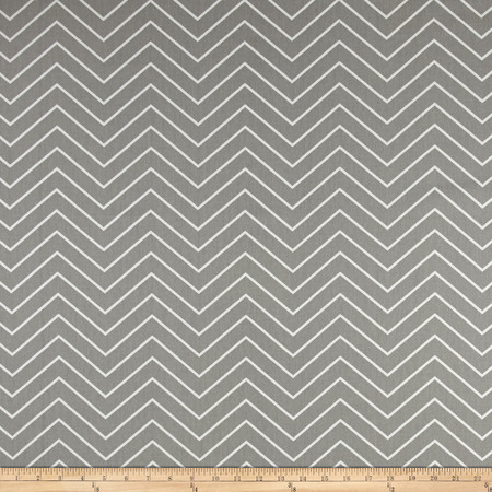 Premier Prints Chevron Twill Storm Fabric By The Yard
