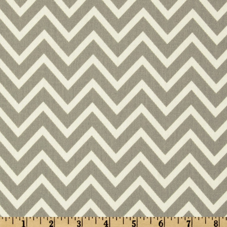 Premier Prints Cosmo Chevron Twill Storm Fabric By The Yard