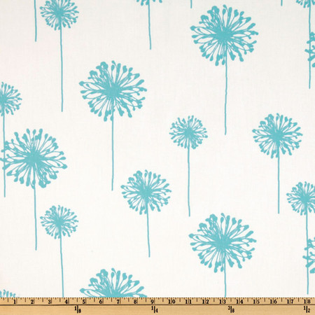 Premier Prints Dandelion Twill Girly Blue Fabric By The Yard