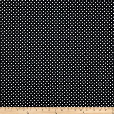 Premier Prints Dottie Black/White Fabric By The Yard