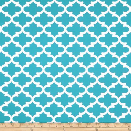 Premier Prints Fulton Coastal Blue Fabric By The Yard