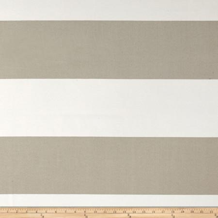Premier Prints Indoor/Outdoor Cabana Stripe Beachwood Fabric By The Yard