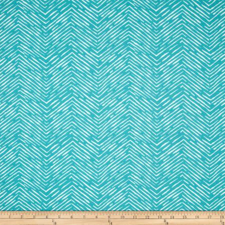 Premier Prints Indoor/Outdoor Cameron Ocean Fabric By The Yard