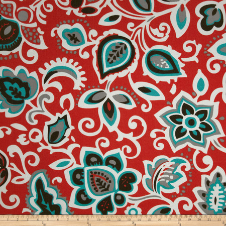 Premier Prints Indoor/Outdoor Faxon Calypso Fabric By The Yard