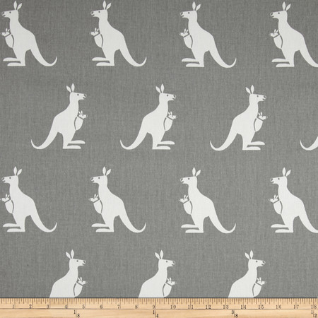 Premier Prints Kangaroo Twill Storm/White Fabric By The Yard